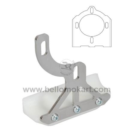 Slitta protezione disco freno CR4F per scatolato 4 fori