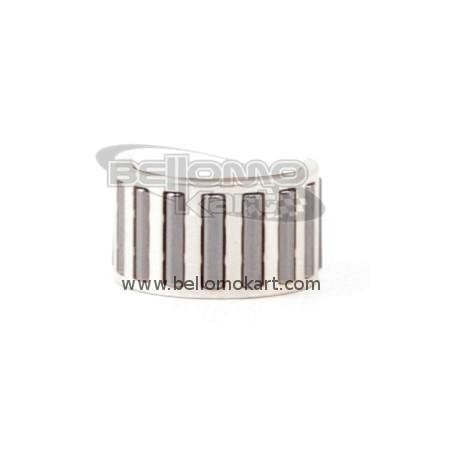 Gabbia argentata testa biella  tm per assi da 20 mm