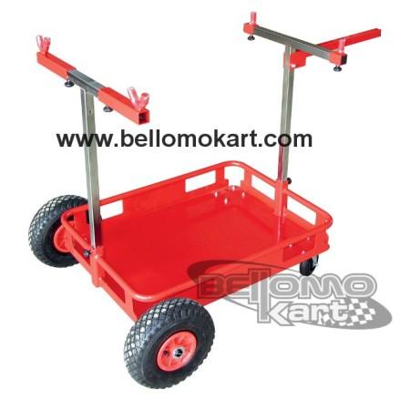 carrello portakart pista
