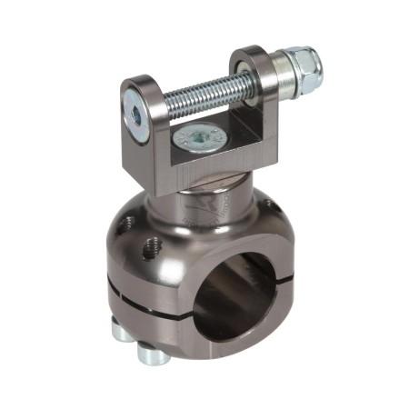 Supporto alluminio pompa acqua 28 mm