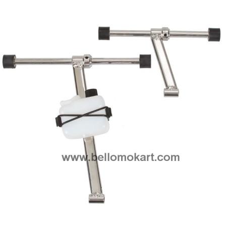 kit fissaggio radiatore acciaio 115-135