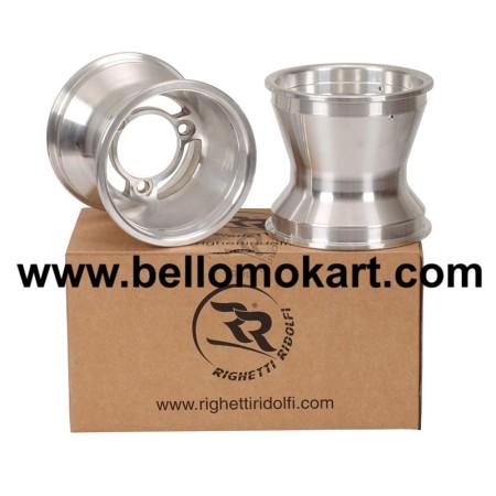 Set 2 cerchi razze tipo CRG 125 mm alluminio