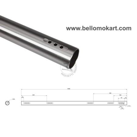 assale 40 mm (40 x 3 x 1040)  tipo medio ( B )