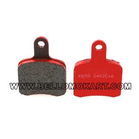 Kit pastiglie freni tipo tonykart BS5-BS6 fino al 2014