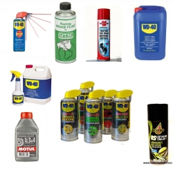 WD-40 spray catena ed altro