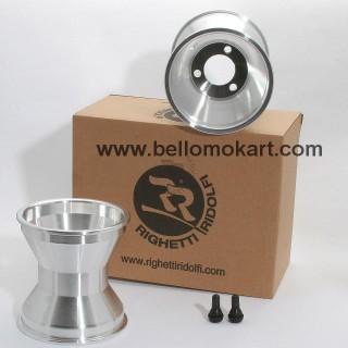 Set 2 cerchi 140 mm alluminio