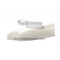 Carenatura laterale SX CIK FL09/14 BIANCO freeline