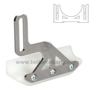 Slitta protezione disco freno 4F per scatolato basso