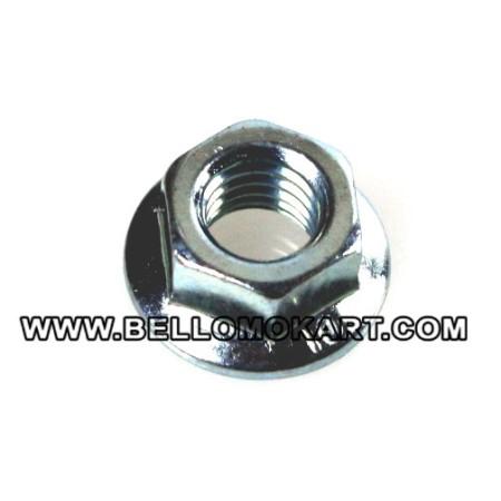 Dado 8 mm flangiato fissaggio cilindro