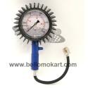 Manometro pressione 0-2,5 con OLIO DI GLICERINA quadrante 100 mm