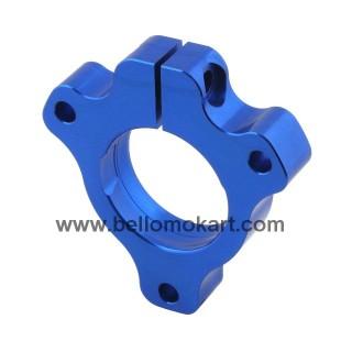 Guscio cuscinetto 25 mm regolabile 3 fori  blu