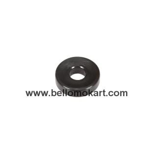 Rondella in nylon nera D.18/6 h.5mm