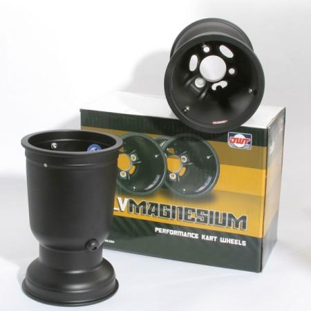Set 2 cerchi posteriori magnesio Douglas LV  212 mm
