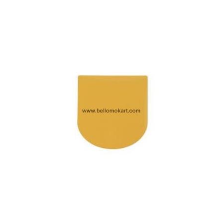 Tabella adesiva gialla frontalino mini