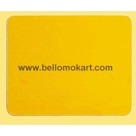 Tabella adesiva gialla carenature laterali