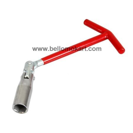 Chiave candela a snodo 16 mm