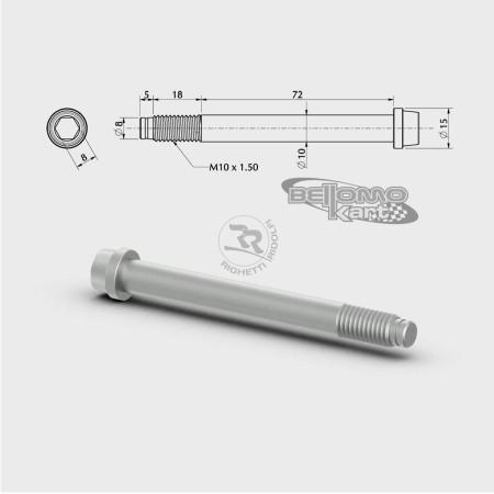 VITE PER FUSELLO D.10mm M10 L.72+18mm
