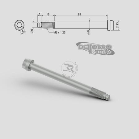 VITE PER FUSELLO D.8mm M8 L.92+18mm
