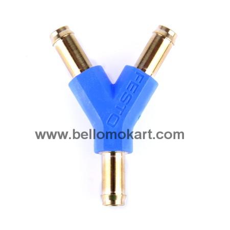 deviatore a Y modello speciale per tubo benzina