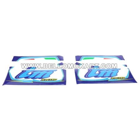 kit adesivi convogliatori aria tm 60 mini