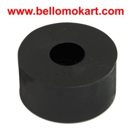 Rondella spessore in nylon  27 x 10  h 14mm nera