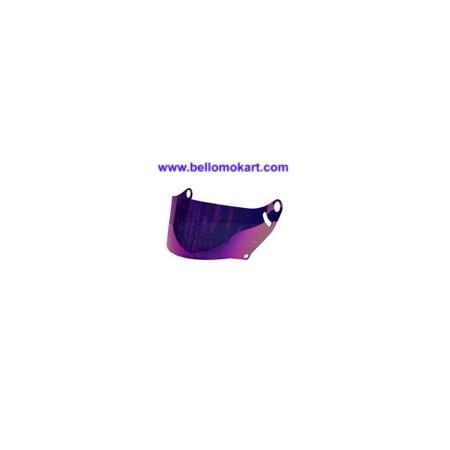 Visiera iridium viola per casco arai CK6