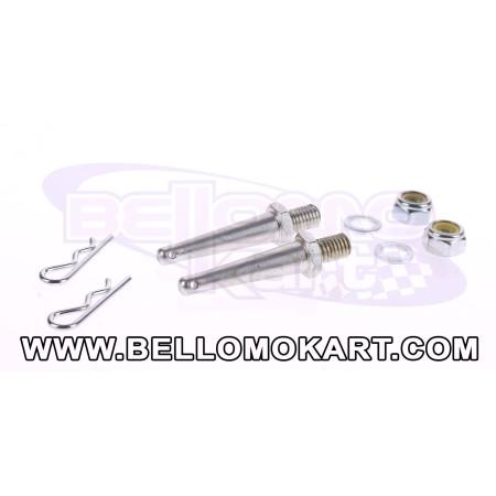 kit fissaggio paracatena KZ ( ricambio )