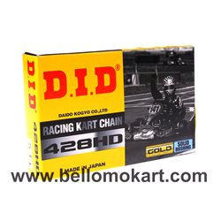 CATENA KART 125 DID ORO 428 HD