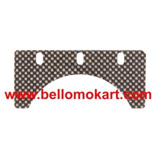 Balestrino superiore speciale in carbonio spessore 0.25 mm