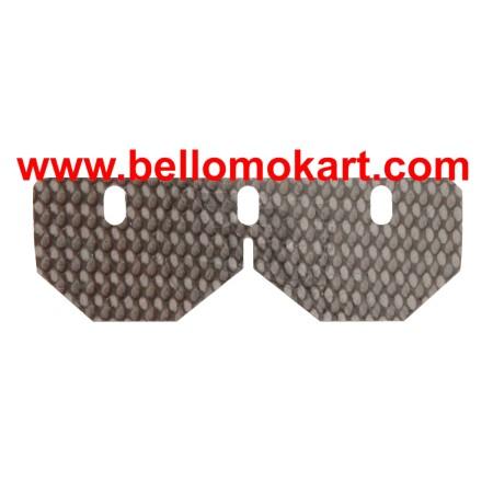 Balestrino inferiore speciale in carbonio spessore 0.38 mm