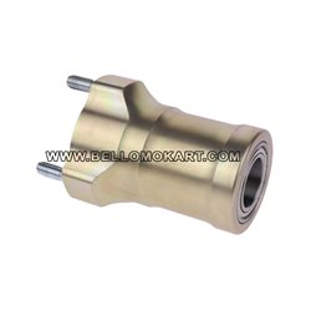 mozzo anteriore magnesio lunghezza 90 con cuscinetto 25 mm