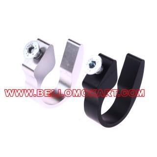 Supporto per tubo radiatore a sedile