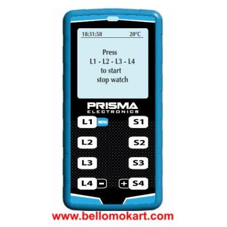 cronometro prisma digital stopwatch 4 piloti