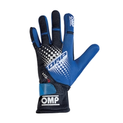 guanti OMP KS4 blu  new 2019
