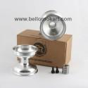 Set 2 cerchi alluminio 130 mm con mozzo completi
