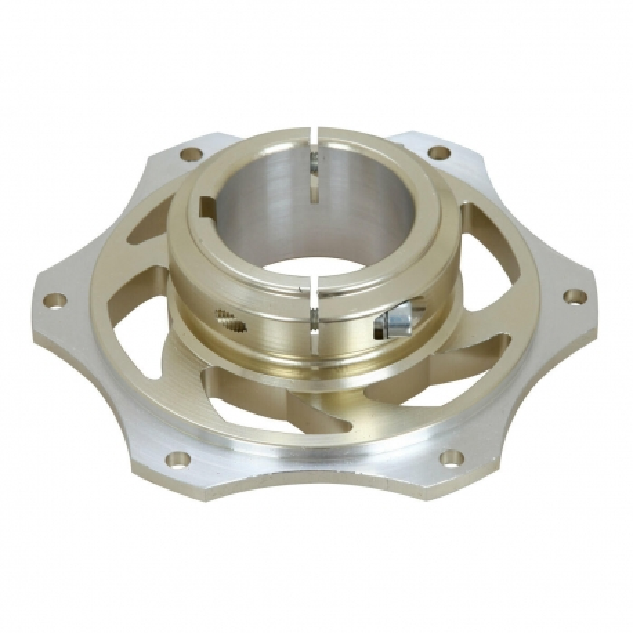 Portacorona alluminio anodizzato per assale da 50 mm