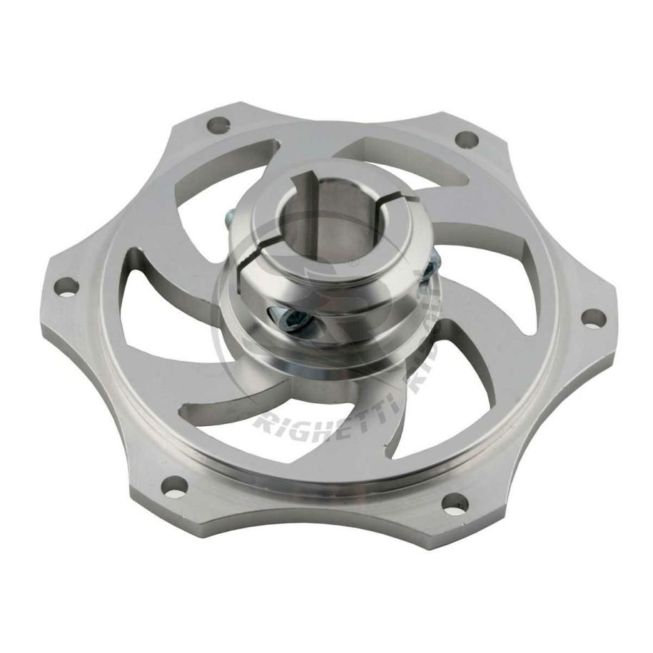 Portacorona alluminio anodizzato per assale da 25 mm