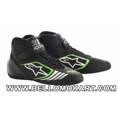 scarpe kart alpinestars TECH 1 K START nero-bianco