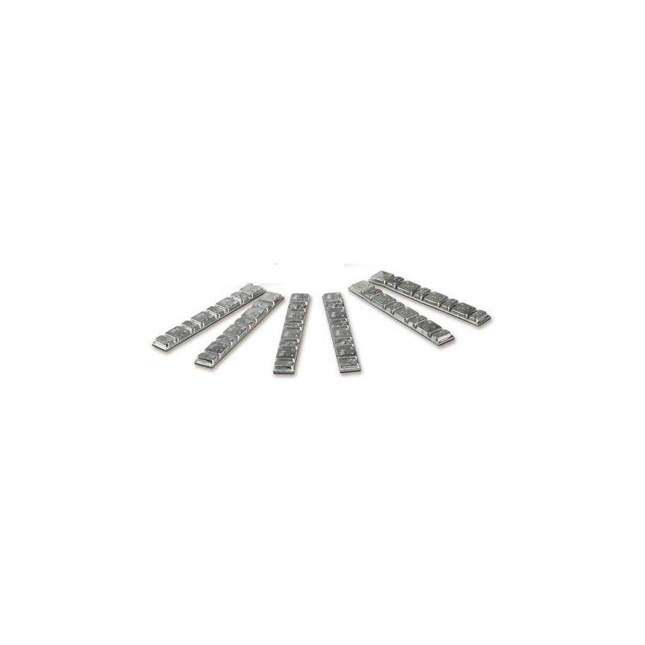 Barrette acciaio adesive per bilanciatura ruote