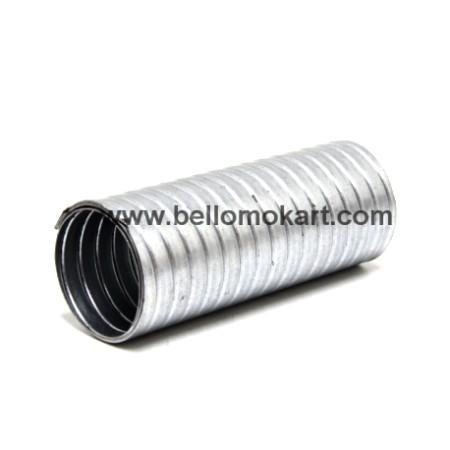 flessibile marmitta 100 (diametro 50 mm) lunghezza 10 cm  circa (misura effettiva) compatto e pronto all'uso
