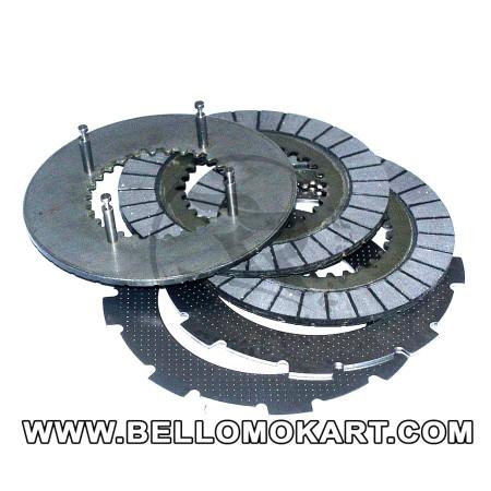 set dischi frizione per motori HONDA