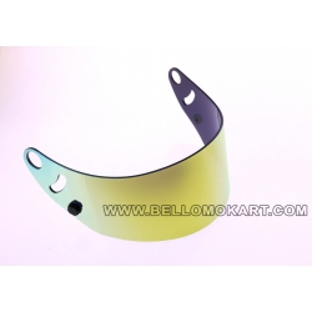 Visiera iridium oro per casco arai SK6