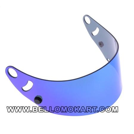 Visiera iridium blu per casco arai SK6