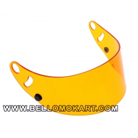 Visiera arancione per casco arai SK6