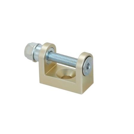 Supporto alluminio pompa acqua colore BLU