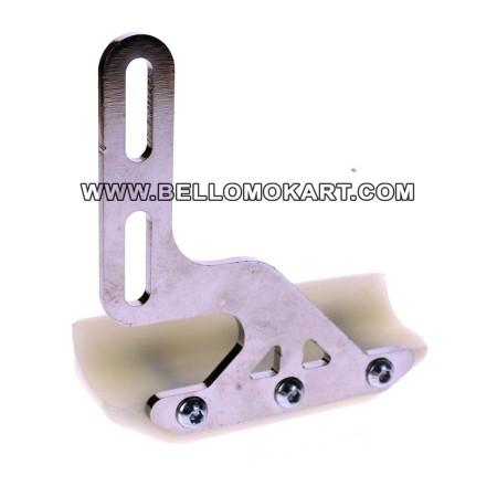 Slitta protezione disco freno 4F minikart