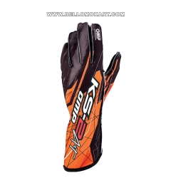 guanti OMP KS2 ART  nero-arancio new
