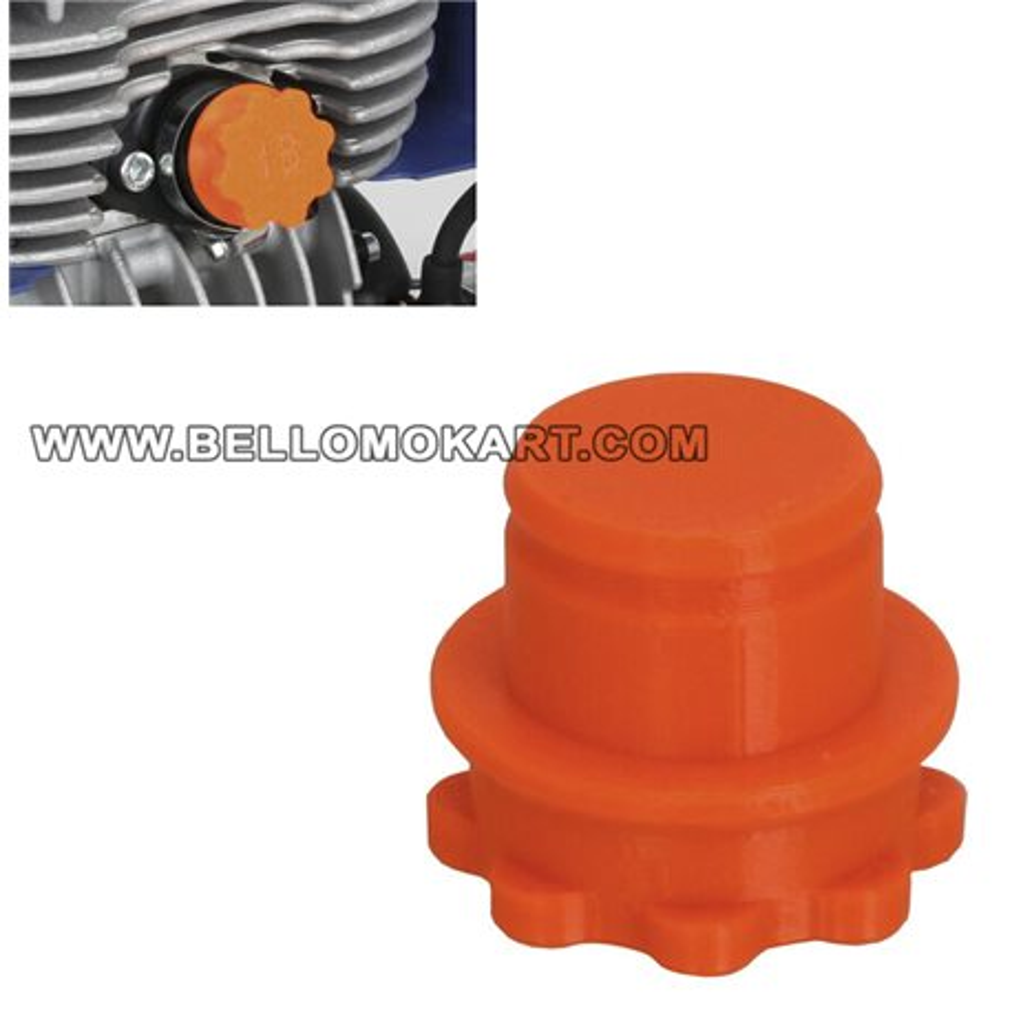 Tappo di protezione foro aspirazione minikart (18 mm)
