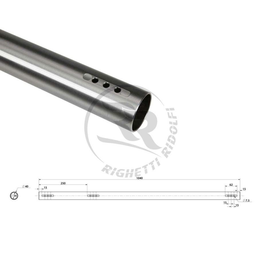 assale 40 mm rotax DD2  tipo medio ( B )