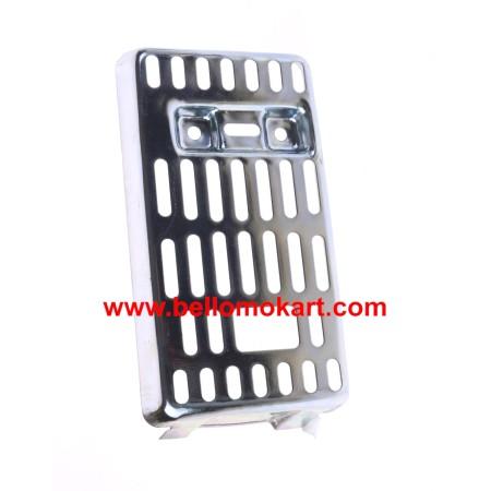 protezione scarico in metallo Comer C50